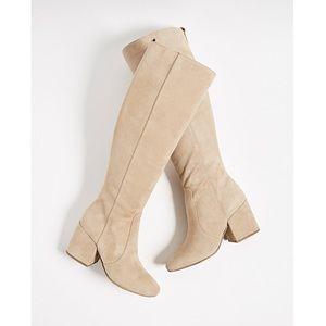 NEW Sam Edelman Suede Knee High Boots